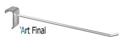 Gancho Simples Para Barra Cromado 15x35 Alu 50