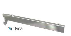 Mão Francesa para Cremalheira Cromada 35cm 15x35