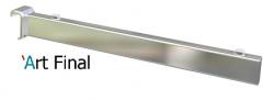 Mão Francesa Barra Cromada 35cm 15x35 Alu 50