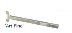 Suporte Invisível para Cremalheira Cromada 35cm Alu 50